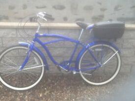 Retro looking push bike