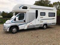 Auto-Trail Apache 634 Motorhome   4 Berth   U-Shaped Lounge   Only 11700 Miles   12 Month Warranty