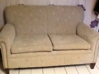 Small Vintage Two Seater Settee