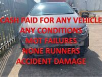 TOP MONEY PAID FOR UNWANTED SCRAP CARS VEHICLE NONE RUNNERS MOT FAILURES NORTHFIELD
