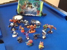 Large collection of Skylanders Figures