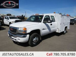2007 GMC 3500 Extended Cab Service Truck