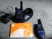 Motorola T5422 two way radios (walkie talkies)