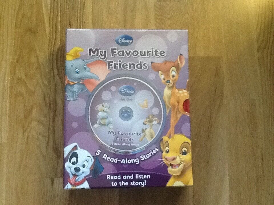 Brand new!! Disney 5 Read Along Stories & DVDs. Ideal Crimbo pressie!