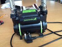 Shower pump. Salamander CT75 XTRA 2.0 bar positive head pump