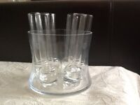 Funky 7 piece shot glasses or mini vases, your choice!