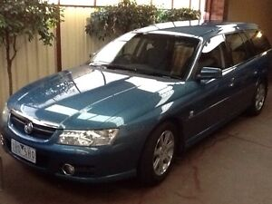 HOLDEN VZ BERLINA LUXURY WAGON 131,900 KMS 2 OWNERS BARBADOS BLUE$6500 Brookfield Melton Area Preview
