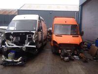 07-17 Parts MERCEDES SPRINTER VW CRAFTER AXLE DOOR BONNET WING RADIATOR SEATS mirror bumper wishbone