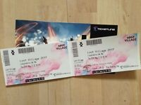 2 X Lost Village Festival Tickets