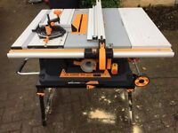 Evolution table saw