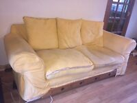 2 second hand couches and sofa bed for sale