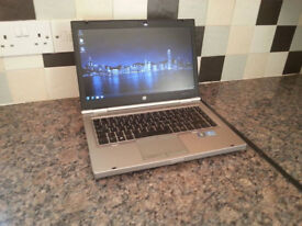 "HP EliteBook 8470p 14.1"" LAPTOP, FAST i5 2x 3.20GHz, 6GB, 250GB, WIFI, BLUETOOTH, DVDR, WEBCAM, USB3"