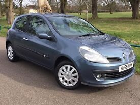 2006 56 Renault Clio Dynamique 1.4 16v 3 Doors Great Economical Car Cheap Insurance Many Extras