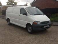 2005 TOYOTA HIACE 300 GS L.W.B. FULL SERVICE HISTORY FROM NEW, 1 OWNER FROM NEW, DRIVES GREAT,