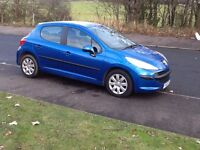 207 SPORT 2007 PEUGEOT 207 SPORT 1.4 5DR 81000 MILES,FULL SERVICE HISTORY,YEARS MOT,EXCELLENT CAR.