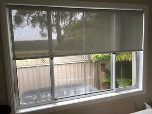 Roller Blinds - 3 months old - Excellent condition - As New Kirrawee Sutherland Area Preview
