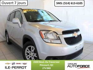 2012 CHEVROLET ORLANDO LT, 7 PASS, BLUETOOTH, MAGS