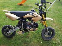 110cc loncin pitbike (not supermoto or road legel)