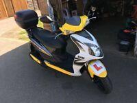 Moped 50cc, SYM, 3000 mil