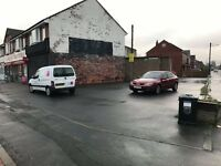 Car storage / car sales pitch to let for 15-20 cars in Moorends, Doncaster, DN8 - £300 per month!