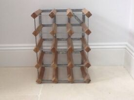 WINE RACK holds 15/16 bottles. Pick up Chiswick W4