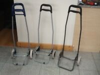 Shopping Trolly carts -no bags,golf Trolly -ideal for festivals,camping,light bulky items-£4 each