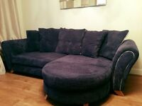 4 Seater Sofa & Swivel Chair
