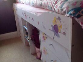 Children's cabin bed,
