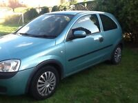 Vauxhall corsa 03 plate in great condition
