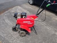 Garden rotavator Honda FG314 in very good condition hardly used