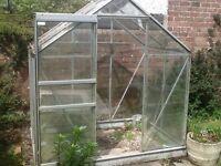 Free 6x4 greenhouse