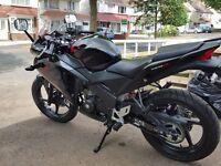 2015 HONDA CBR 125 R-F 125cc Motorbike Motorcycle BIKE Learner