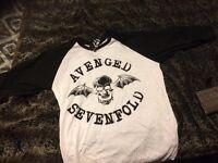 Avenged sevenfold t shirt , size -M brand new
