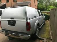 Nissan navara Gull wing pro cargo top