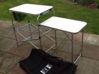 Double table kitchen unit