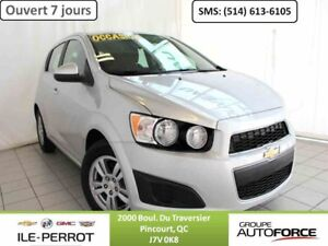 2014 CHEVROLET SONIC 5 LT 5 - LT, AUTO, MAGS, A/C, B-TOOTH