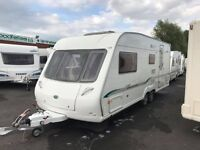 2006 BESSACARR CAMEO 550 GL TWIN AXLE FOUR BERTH TOURING