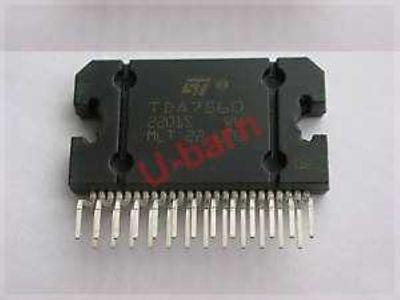 St Tda7560 Zip-254 X 45w Quad Bridge Car Radio Amplifier