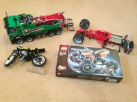 Lego Set - Recovery Lorry / Bike / Technic - Unopened