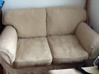 Two seater and arm chair for sale + Also other furniture for sale
