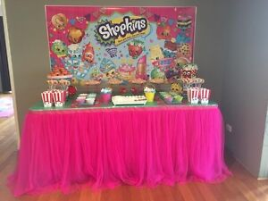 SHOPKINS INSPIRED PARTY THEME FOR HIRE Madeley Wanneroo Area Preview