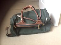 """Marks and Spencer green holdall 50"""""""
