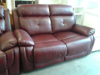 2 x 2 seater recliner sofas (good condition)
