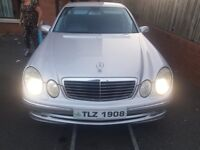 mercedes e270 cdi manaul just past mot drives like new no faults