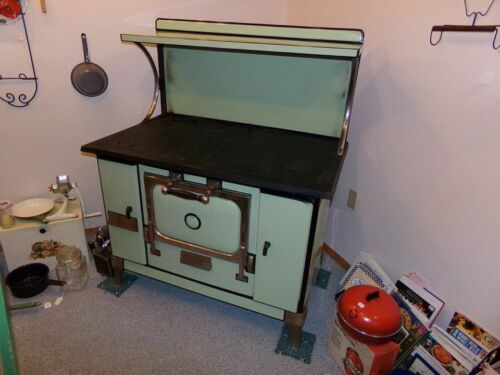 REDUCED Antique Monarch Malleable Wood Burning Stove Beautiful!