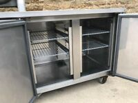 twin door prep fridge