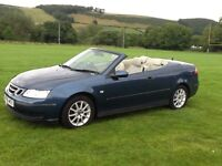 SAAB 93 convertible. ,Mot Aug 2108, tyres all 4m or more. Alloys all in excellent condition.
