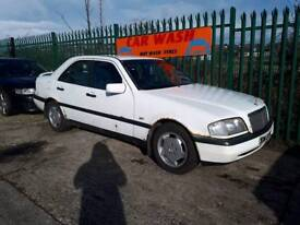 MERCEDES C180 MOT AND TAX WILL SELL COMPLETE OR BREAK FOR PARTS