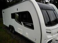 Coachman Touring Caravan & Bradcot Residential Awning