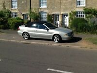 Stylish Volvo Convertible with full service history. Good condition inside and out.